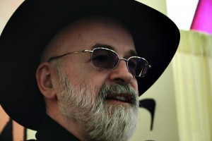 Picture of Terry Pratchett with Iconic Black Hat