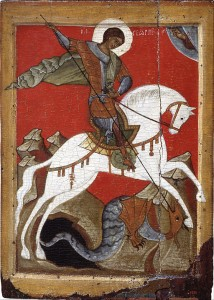 512px-Unknow_-_Miracle_of_St_George_and_the_Dragon._Novgorod_-_Google_Art_Project