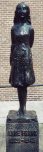 Anne Frank Statue