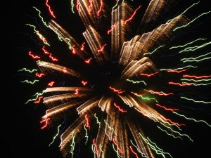 Batille Day is often marked by fireworks.