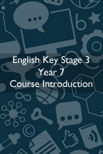 Cover Image for English Course Introduction KS3 Year 9
