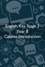 Cover Image for English Course Introduction KS3 Year 8