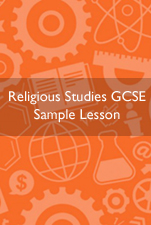 Religious Studies Home Education sample lesson
