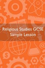 Religious Studies Home Education sample lesson