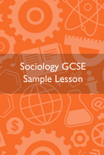 Sociology GCSE Sample Lesson Cover