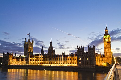 The Houses of Parliament today