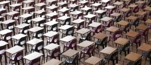 Desks in Exam Room
