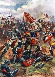 England's King Henry V won the Battle of Agincourt, but the French won the War.