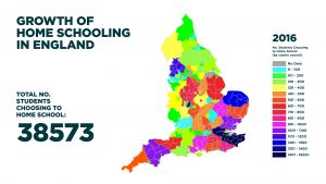 Growth of Home Schooling in England