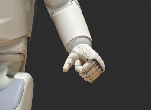 Holograms and Robotics