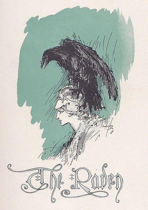 Cover Art for Edgar Allen Poe's The Raven