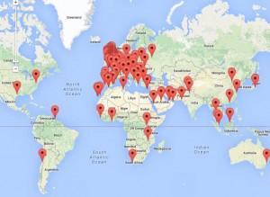 Static Examinations Map World