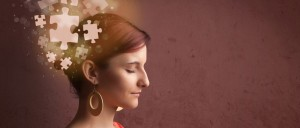 Woman thinking, Analysis, Puzzle