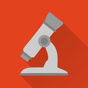 vector Image of a Microscope