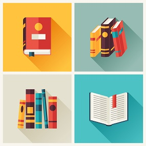 Tiled Image of English Lterature books